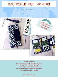 Family Passport Wallet PdF Pattern
