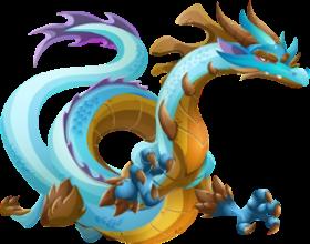 imagen del dragon monstruoso adulto