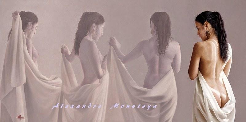 imagenes-dibujos-de-mujeres-pintura-oleo