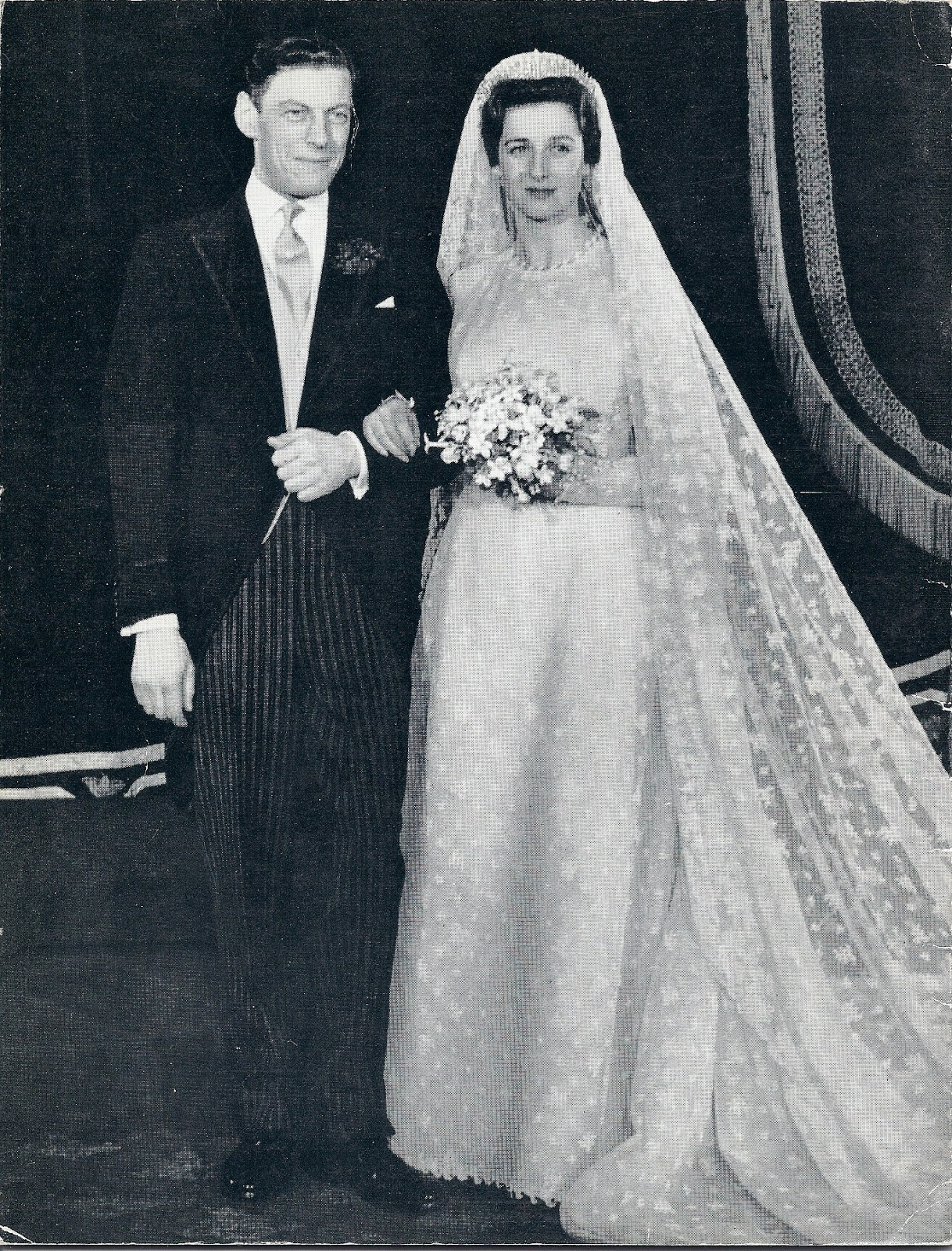 50 Years Ago Today Princess Alexandra Marries The Hon Angus Ogilvy
