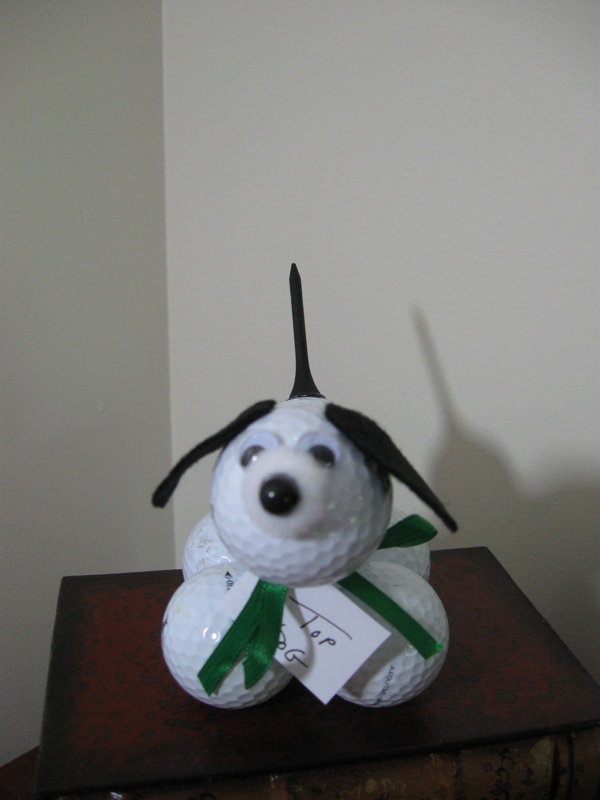 Golf Ball Dog Craft