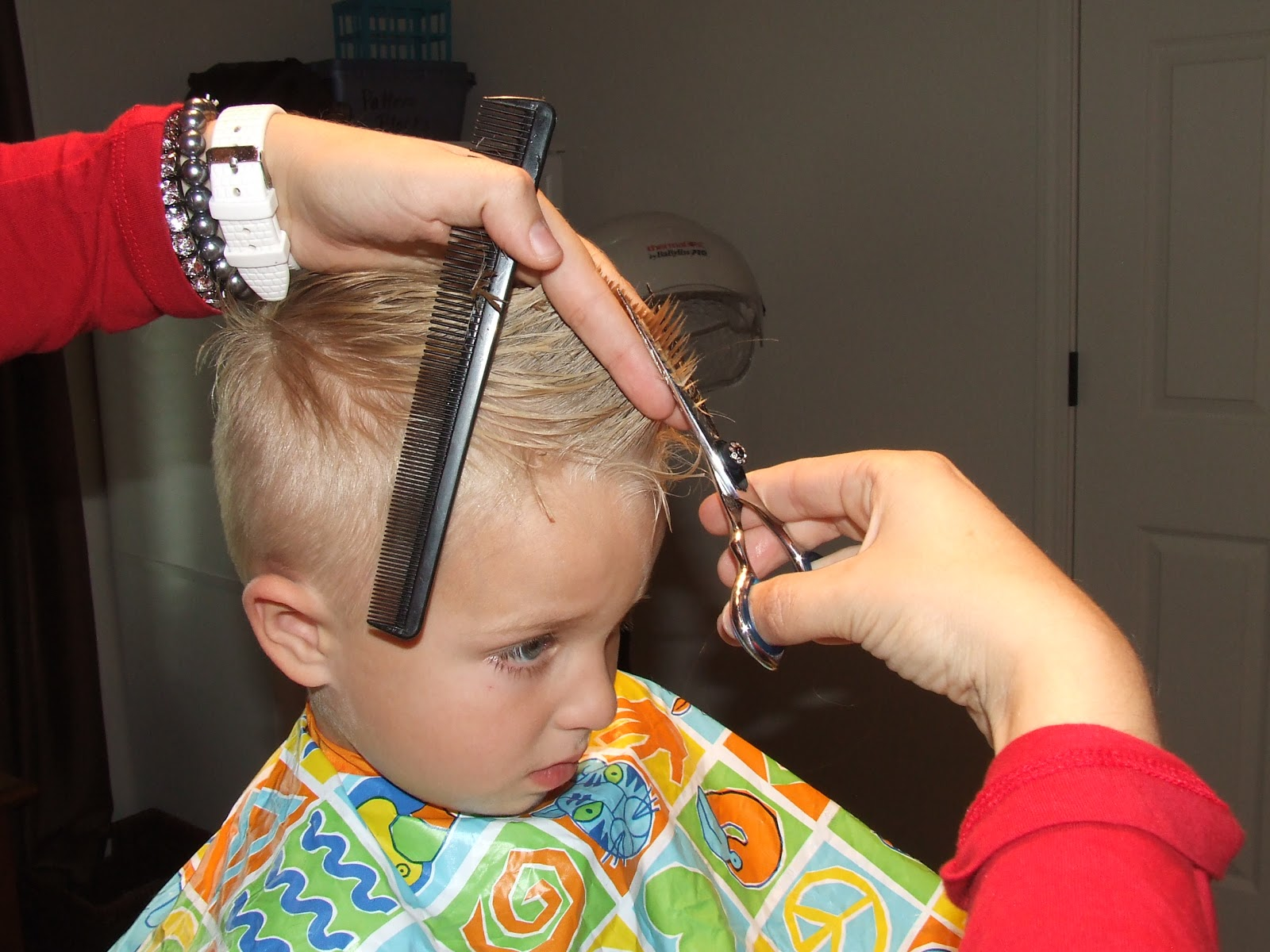 Simply Everthing I Love How To Cut Boys Hair The Professional Way - How to cut boys hair