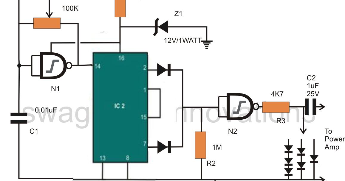 Scematic Diagram Panel  Pure Sine Wave Inverter Circuit