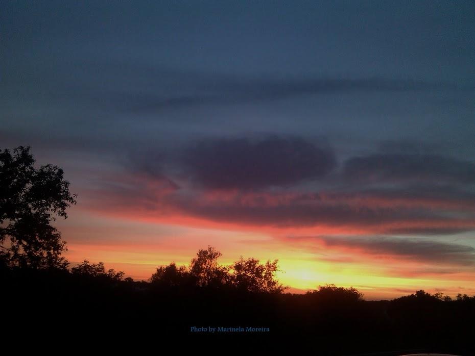 Pôr do sol...foi mais um dia!