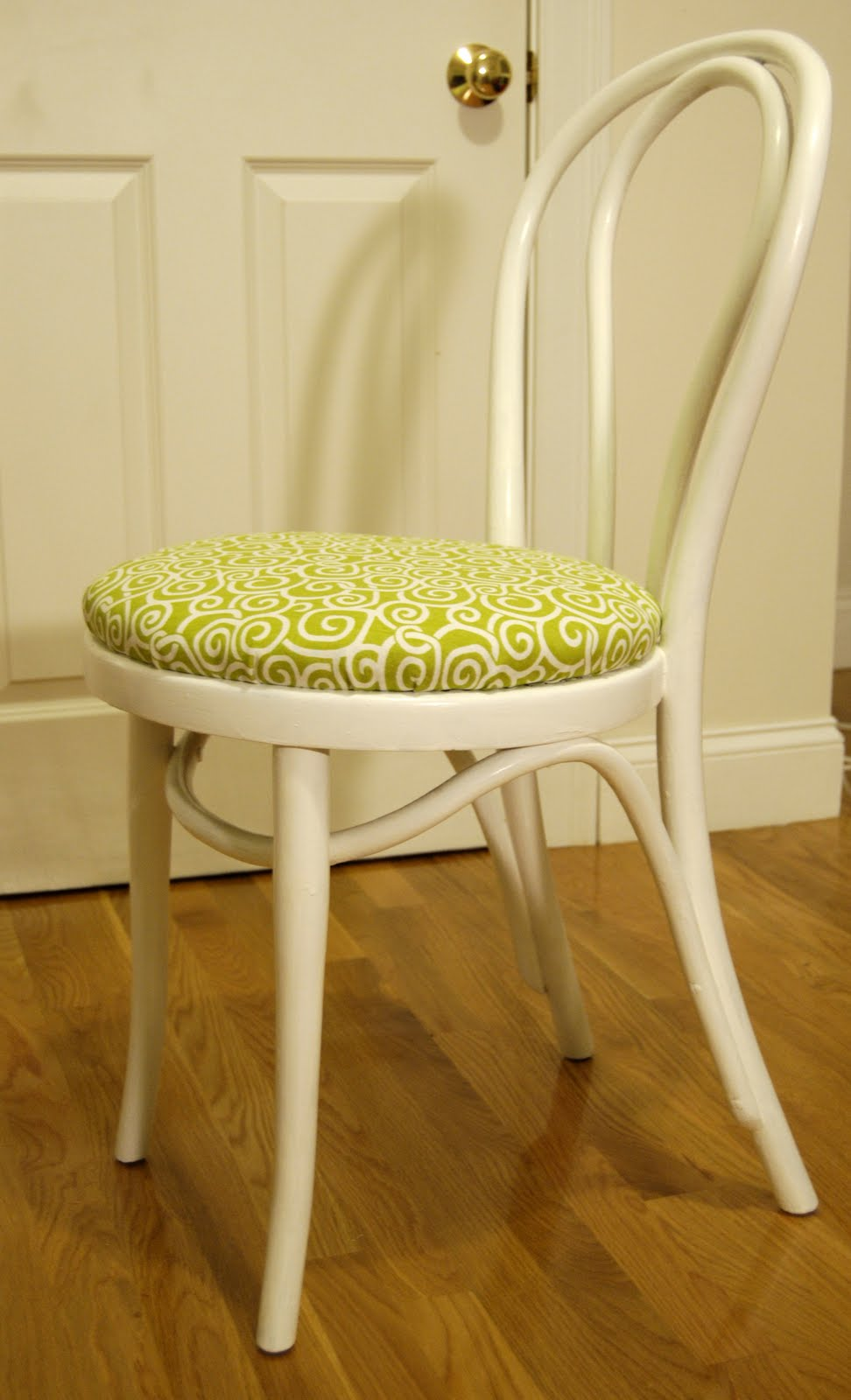 Pieces Of Anna Bentwood Chair Makeover