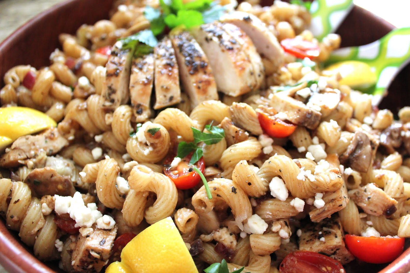 ValSoCal: Greek Pasta Salad