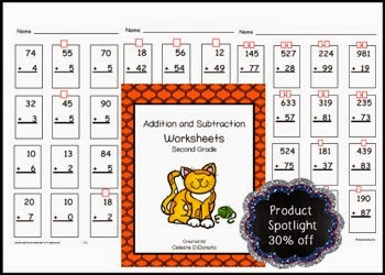 Math for Second Graders: Learning to regroup with addition and subtraction