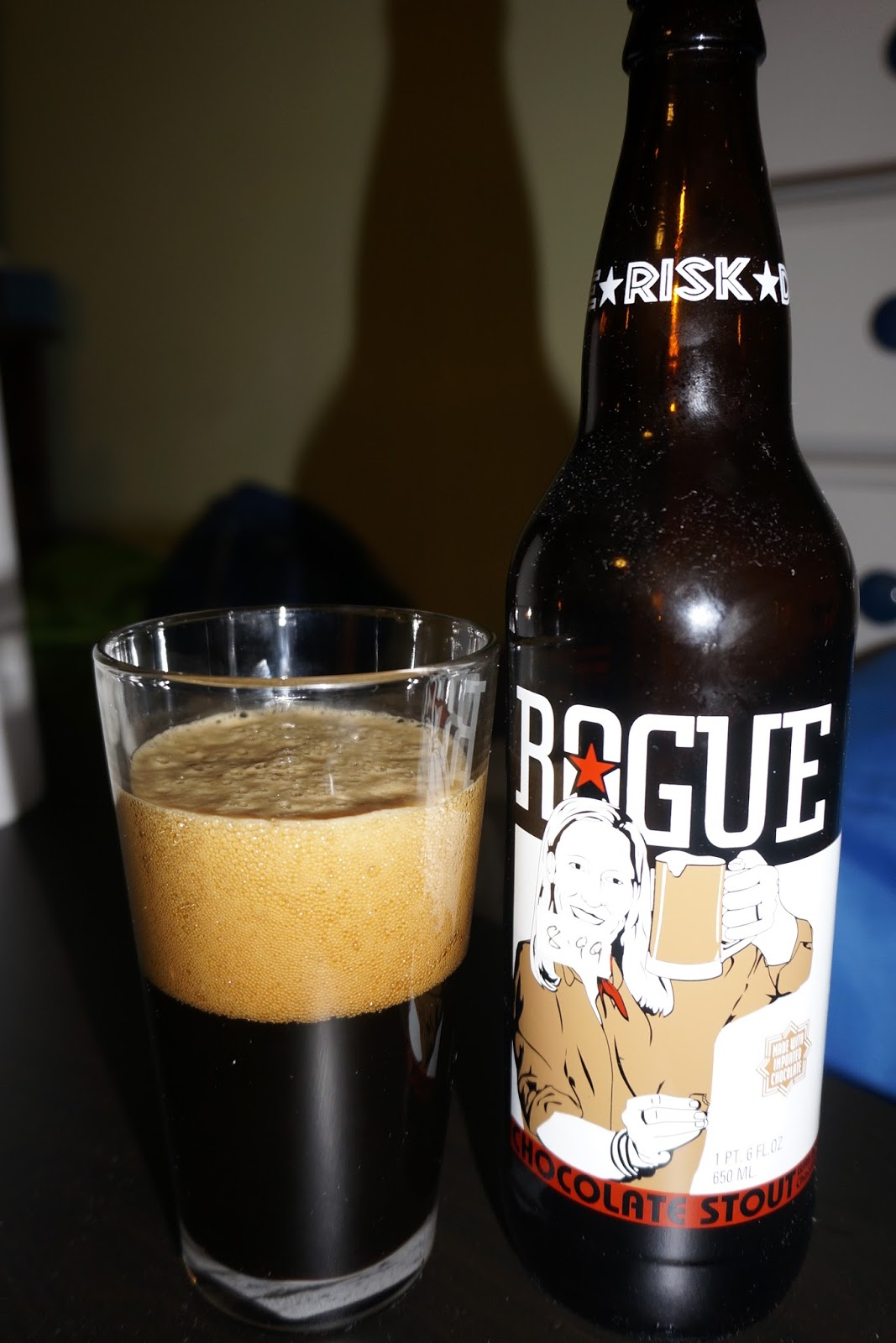 Drink Rogue Chocolate Stout - Adventures of Me
