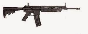 M4A1 Carbine 5.56 x 45 mm (Senapan Serbu)