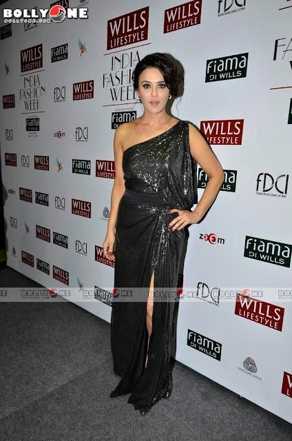 Preity Zinta Wills Lifestyle India Fashion Week