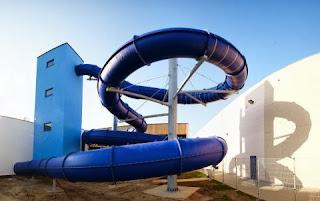 piscine bassin natation toboggan NAUTISPORT PISCINE AQUAPLANET ENGHIEN