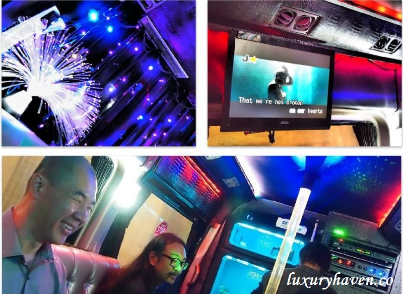 cosmosine singapore party-on-move mobile karaoke review