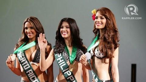 Presentación de candidatas a la prensa - Miss Earth 2014