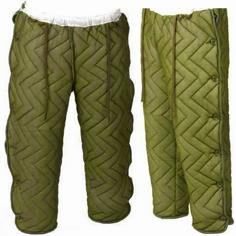 webbingbabel: Norvegian Army Cold Weather Liner Trousers ... : quilted trousers - Adamdwight.com