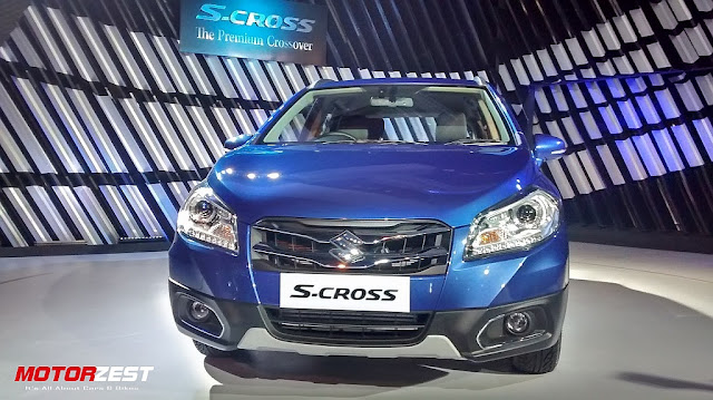 Maruti Suzuki S-Cross launch India Blue Colour