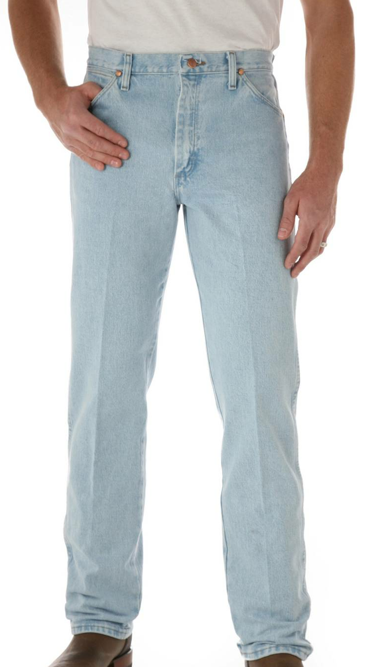 White Wash Jeans - Jeans Am