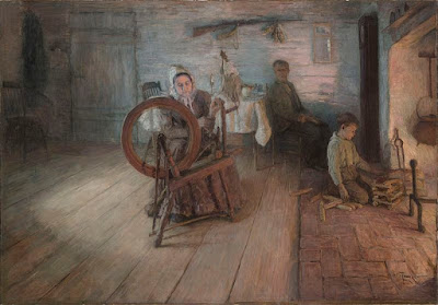 https://en.wikipedia.org/wiki/File:Henry_Ossawa_Tanner_-_Spinning_By_Firelight_%281894%29.jpg
