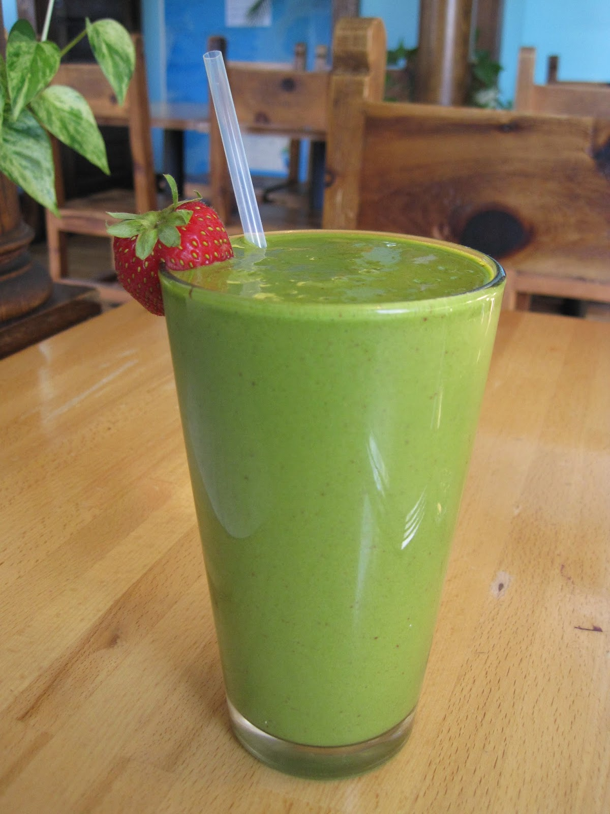 Vegan Raw Greenway - Coconut Smoothie - Ecopolitan Minneapolis