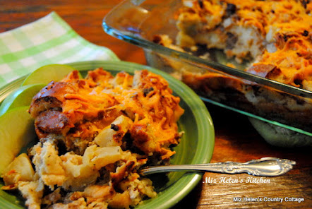 Apple Sausage Breakfast Bake