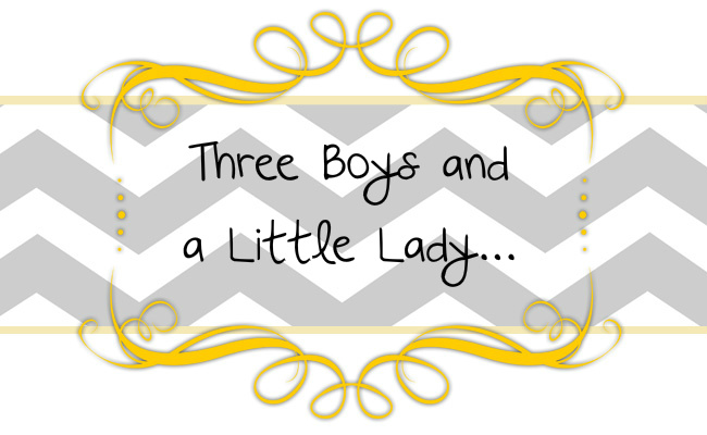 Three Boys and A Little Lady
