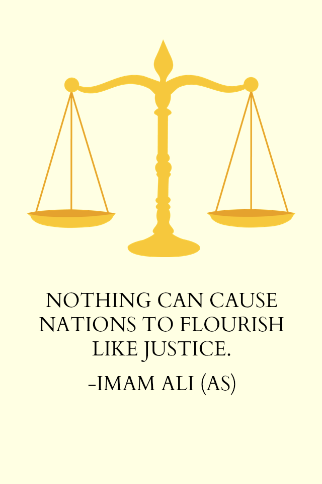 NOTHING CAN CAUSE NATIONS TO FLOURISH LIKE JUSTICE.