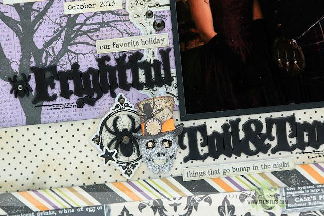 Sneak Peek of project by Juliana Michaels in the Scrapbook Generation Create Magazine September 2015
