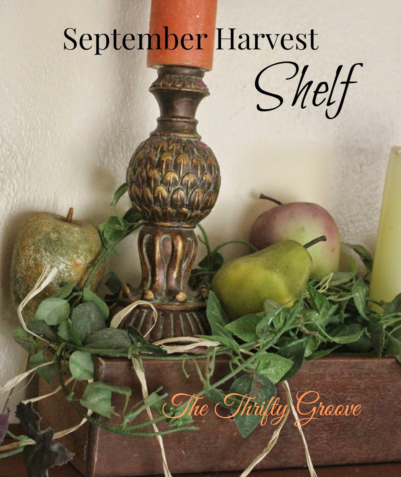 Easing into Fall Decor