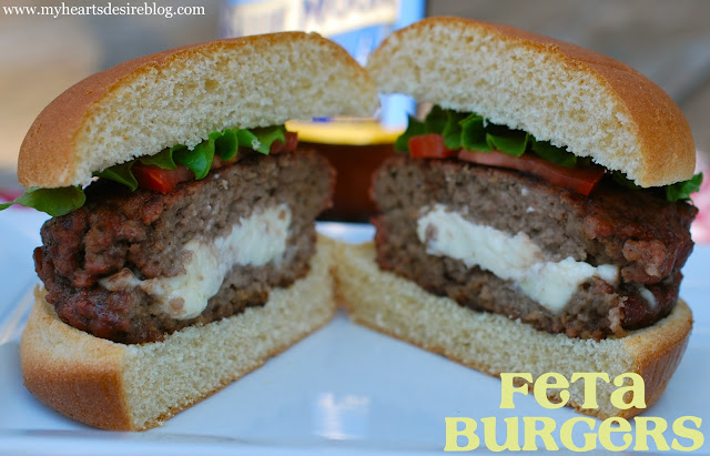 Feta Burgers - Amanda Jane Brown