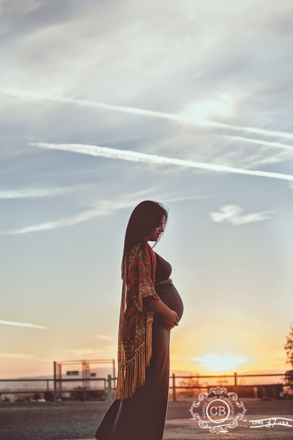 Long Beach Maternity Photography Session