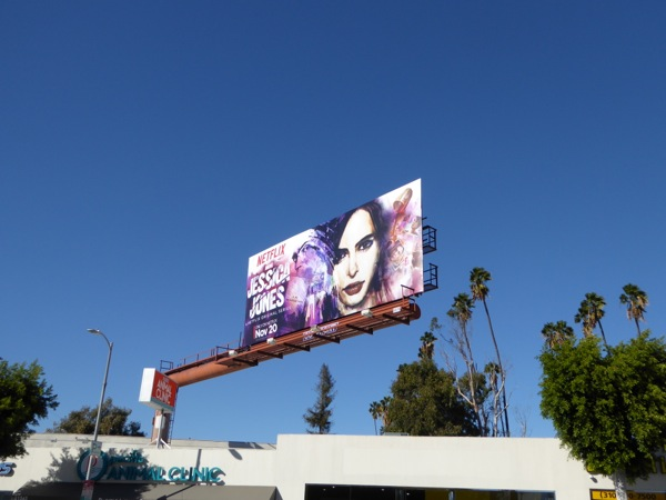 Jessica Jones Netflix series billboard