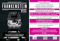 Frankenstein 04155. Encuentro con Susana Miguel Fernández