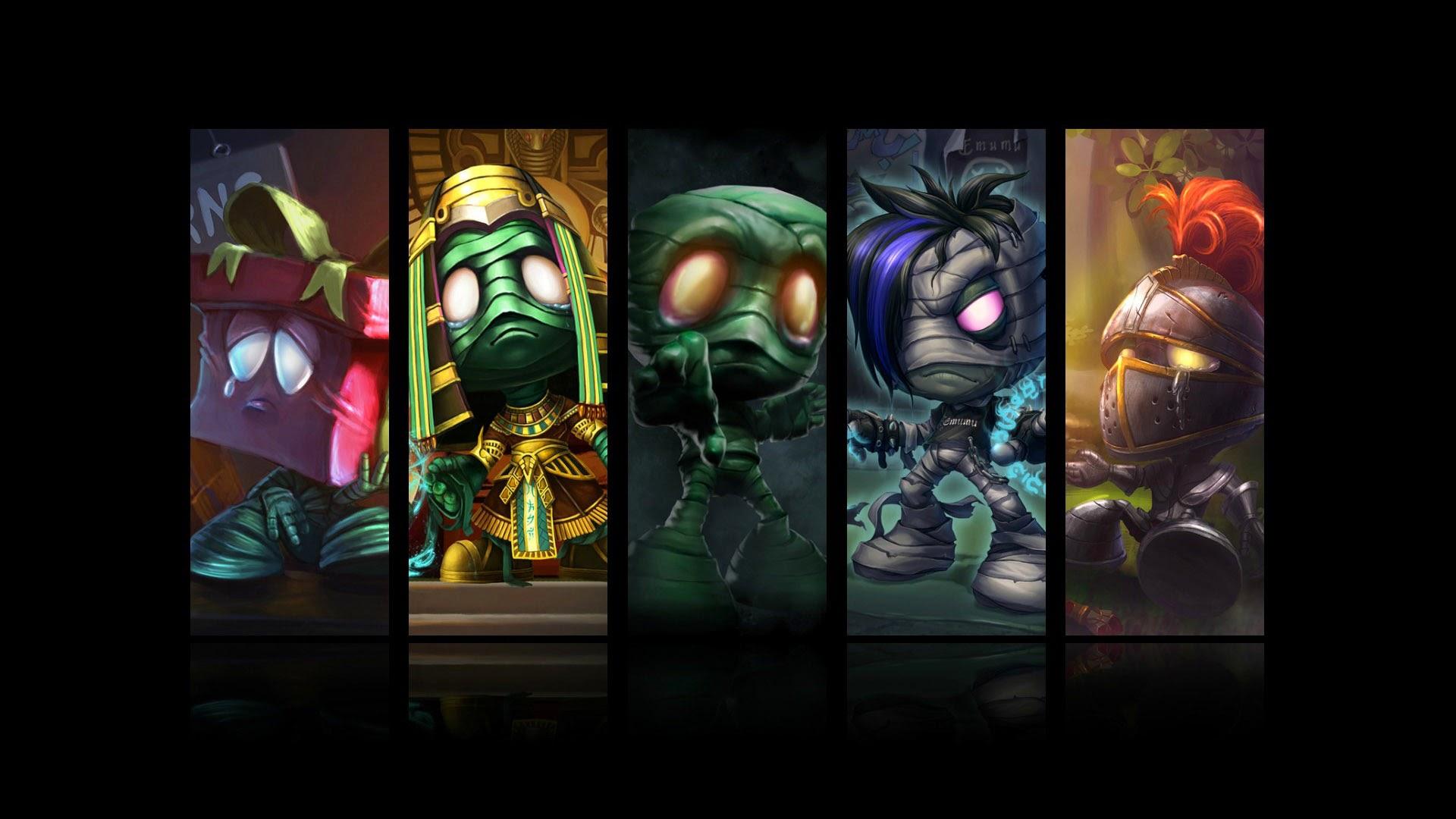 Amumu All Skin League of Legends 0d Wallpaper HD
