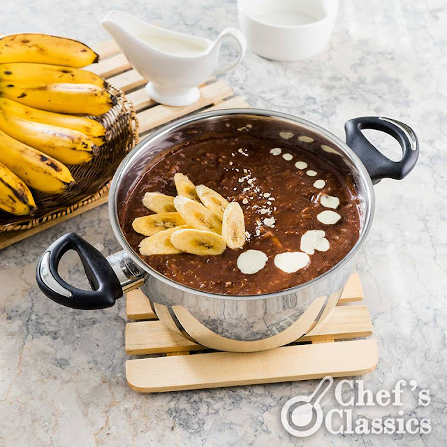Chocolate Banana Porridge Recipe