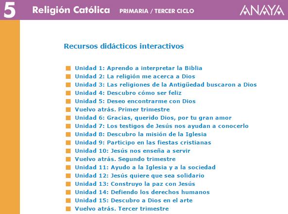RECURSOS ANAYA 5º