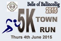 Belle of Ballincollig 5k...Thurs 4th June