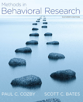 Methods in Behavioral Research - Free Ebook Download