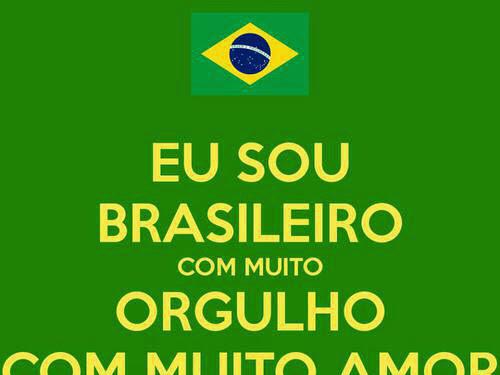 Brasil, meu Brasil brasileiro.