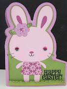 Happy Easter Bunny (Panorama Style Design) happy easter bunny