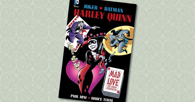 Harley Quinn Mad Love Panini Cover