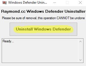Cara Uninstall Windows Defender Sampai Ke Akarnya