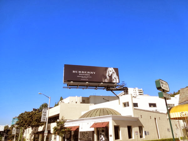 Burberry Watches billboard