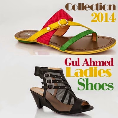 Gul Ahmed Ladies Shoes Collection