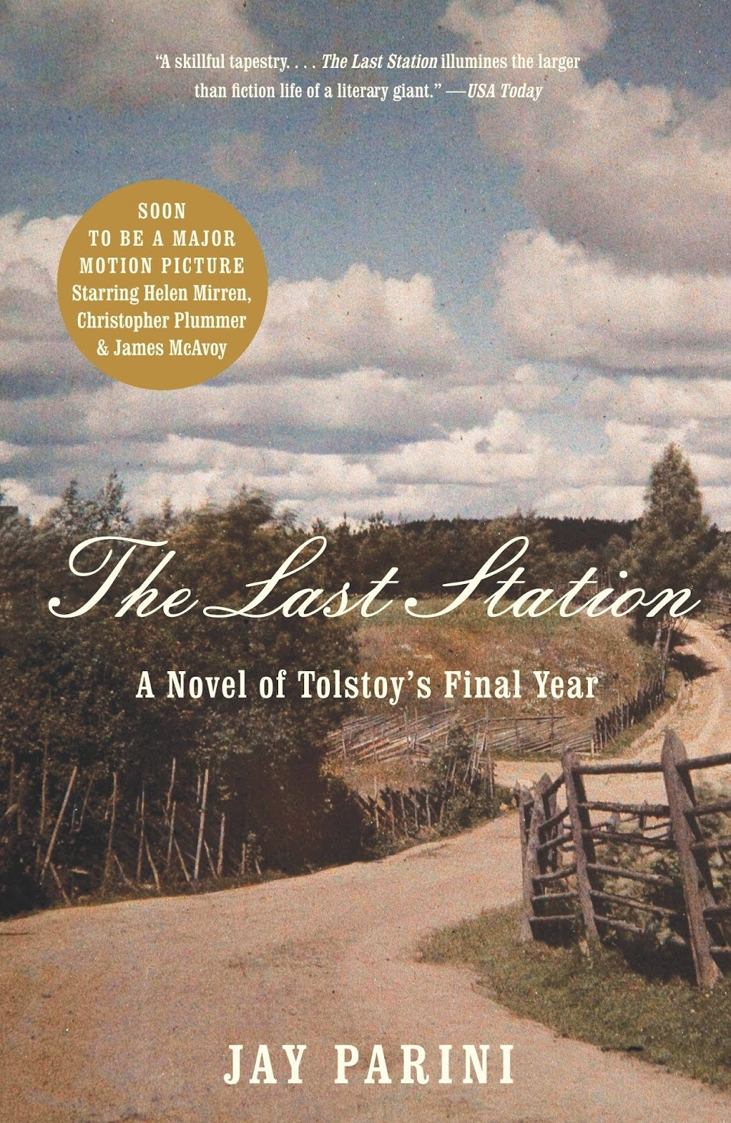 The Last Station A Novel of Tolstoys Final Year  Kindle