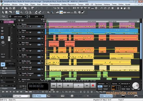 magix samplitude music studio 2016 demo