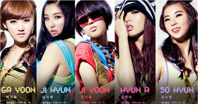 5 10 Girlband Korea Dengan Personil Tercantik