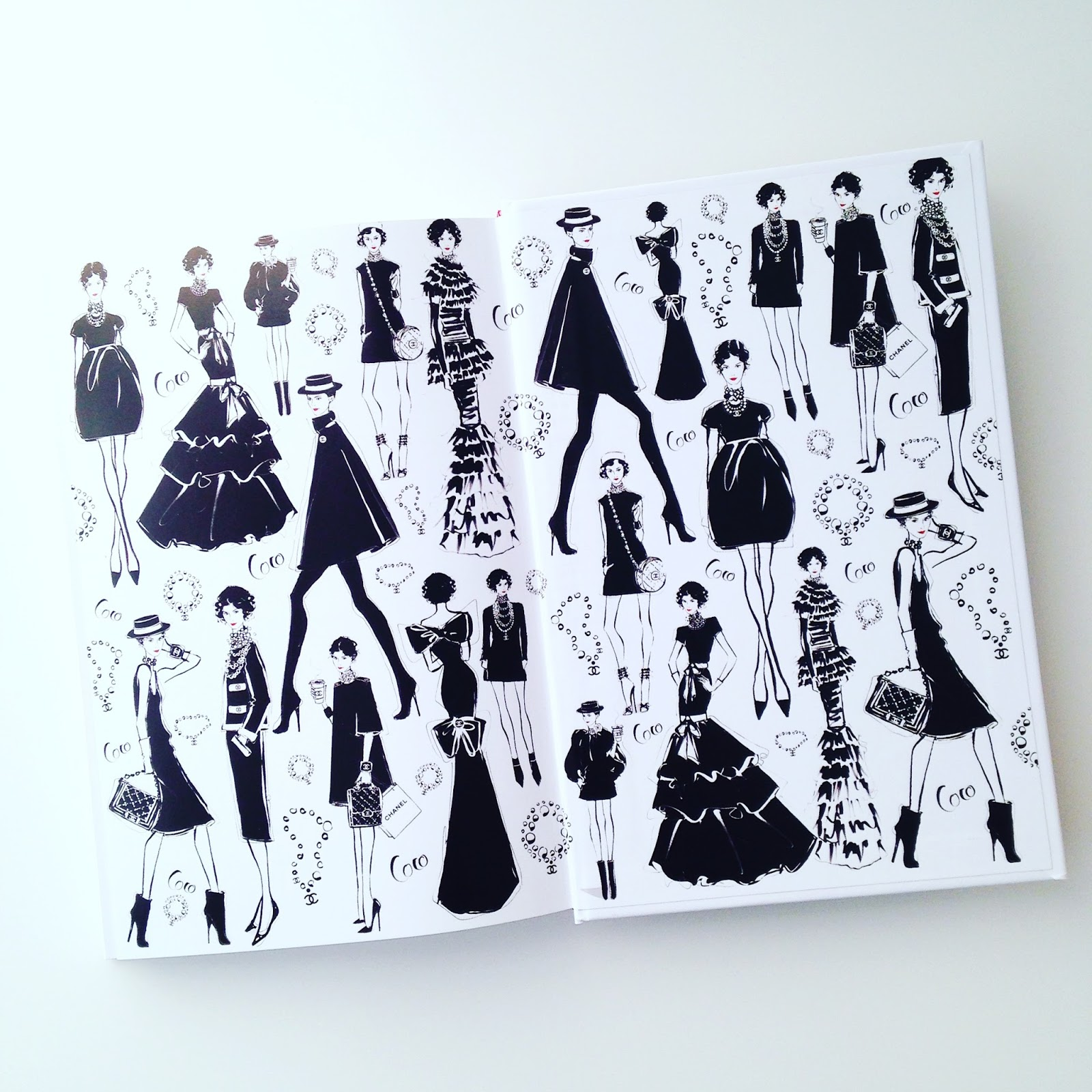Art Attack: COCO CHANEL—The Illustrated World of a Fashion ...