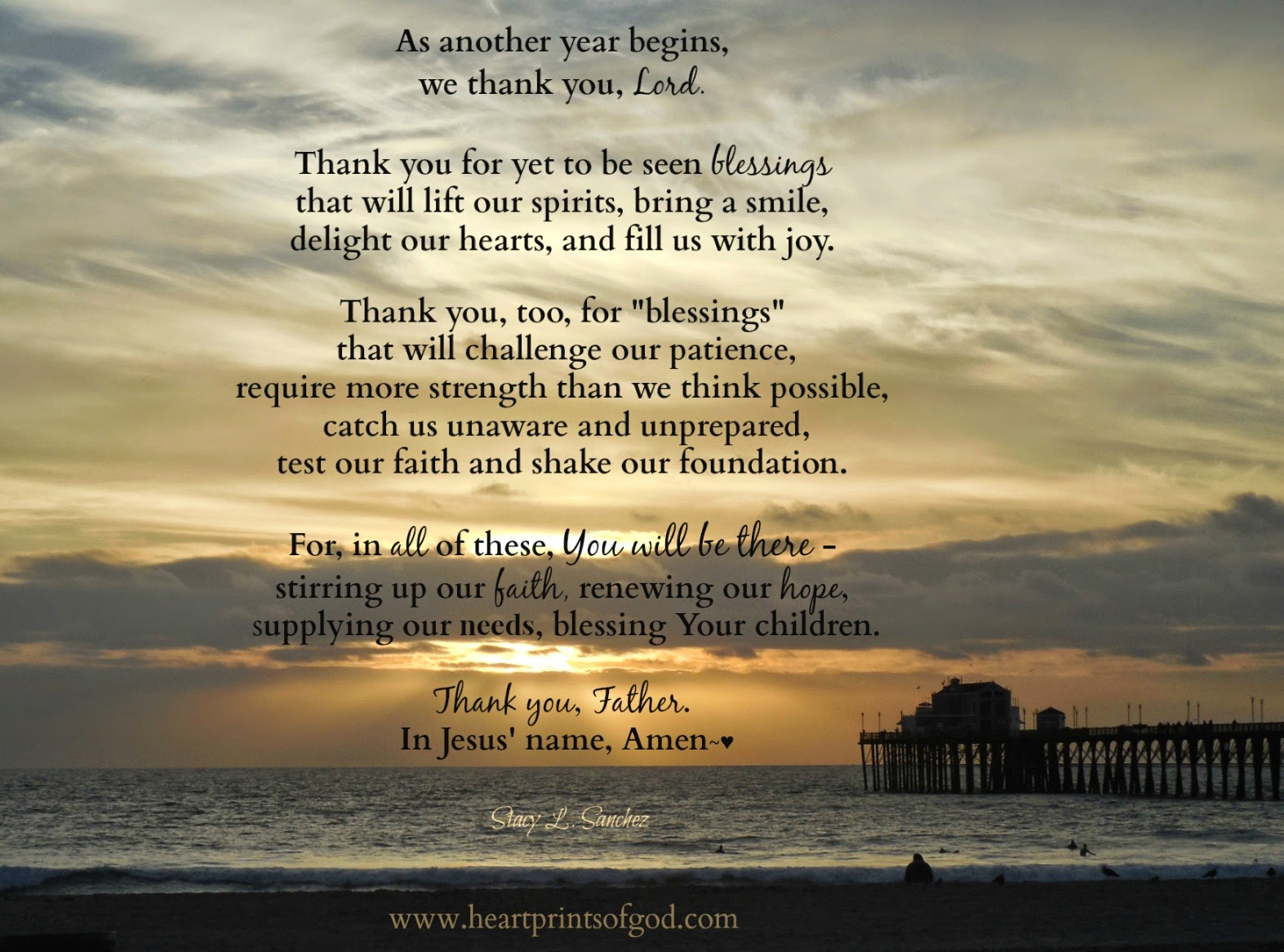 Heartprints of God: New Year Blessings~