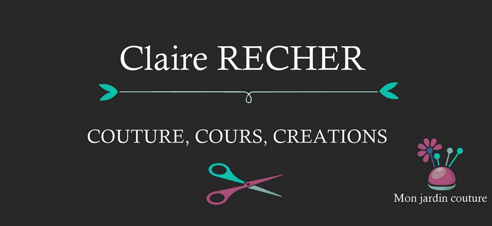Claire Recher Couture, cours et créations