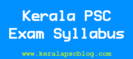 Kerala PSC Demonstrator in Tool and Die Engineering Exam Syllabus