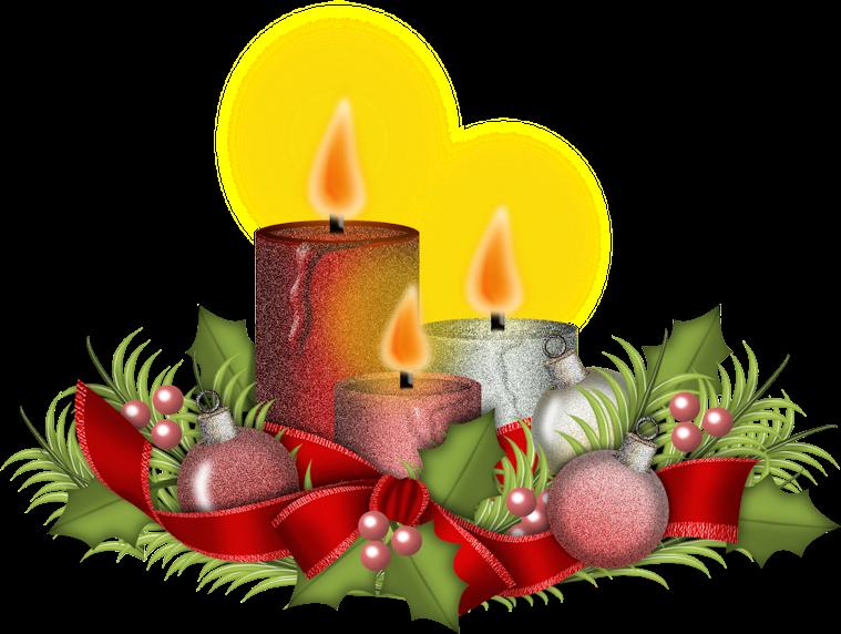 Im genes y gifs de navidad velas de navidad con purpurina - Velas de navidad decoradas ...